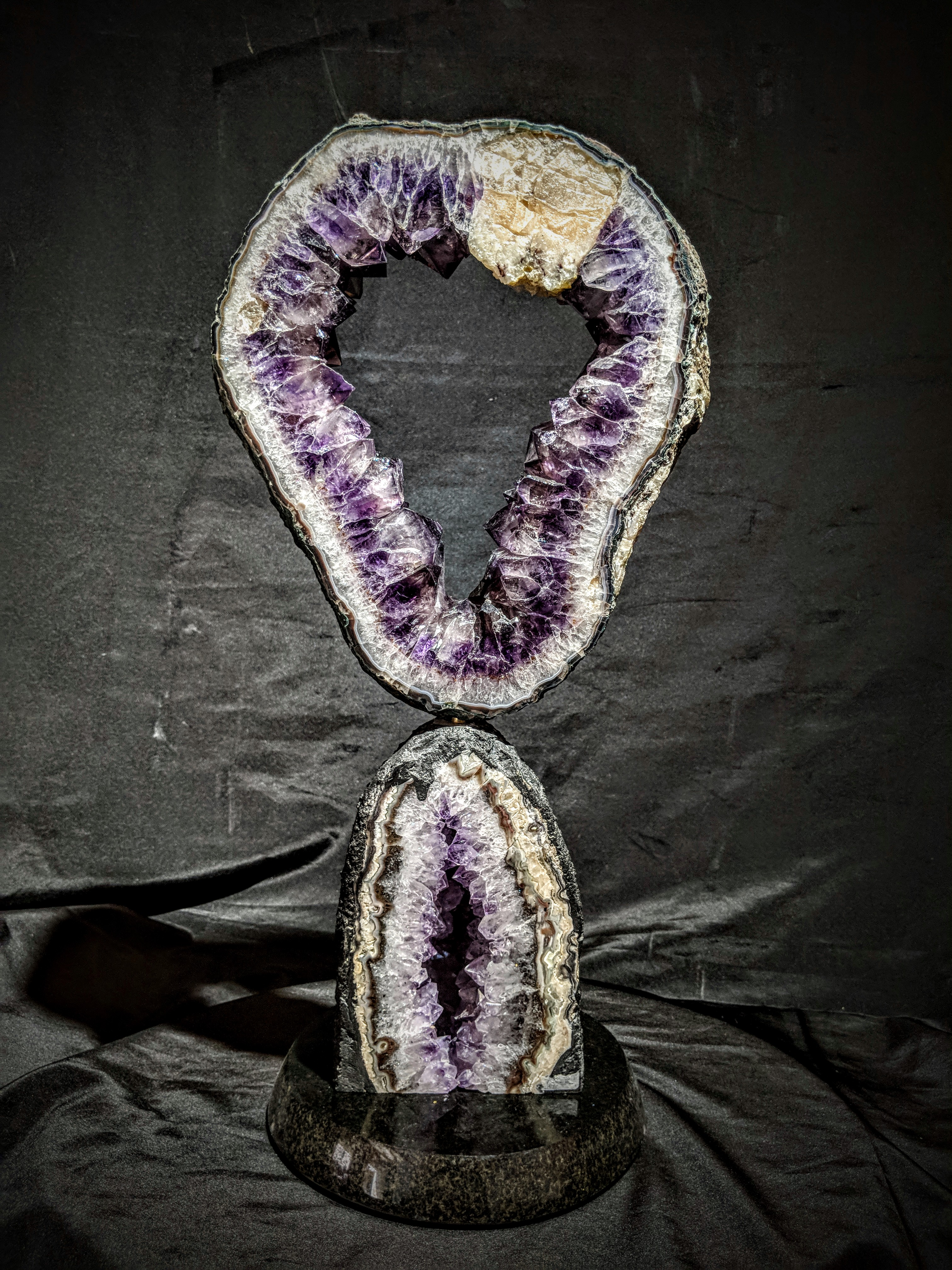 Brazilian Amethyst Sculpture